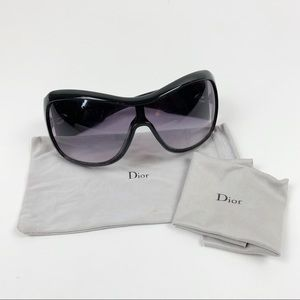 Christian Dior Cannage 1 Havana Black Sunglasses